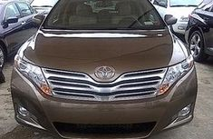DIRECT TOKUNBO 2013 TOYOTA VENZA BROWN FOR SALE