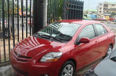 Toyota Yaris 2012 Red for sale