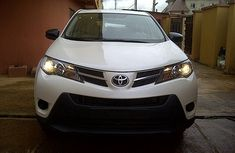Clean Tokumbo Toyota RAV4 2014 White for sale