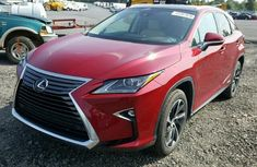 2010 Lexus RX450 Hybrid Red For Sale