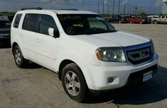 2007 Honda Pilot White for sale