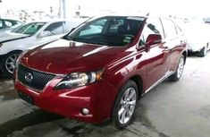Lexus RX350 2013 Red for sale