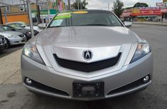 Clean Acura ZDX 2012 Silver for sale