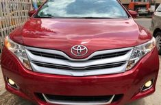 Clean Toyota Venza 2012 Red for sale
