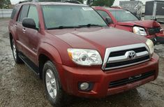 Toyota 4runner 2010 Red for sale