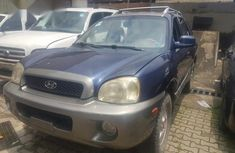 Hyundai Santa Fe 2003 Blue for sale