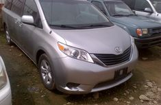 Clean Toyota Sienna 2011 Silver for sale