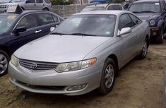 Toyota Solara 2003 silver model for sale