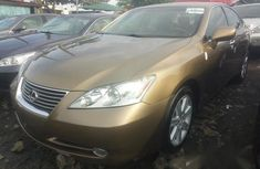 Lexus ES 350 2008 Gold for sale