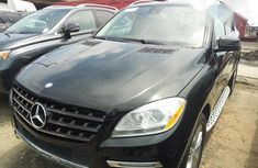 Mercedes Benz ML350  2012 Black for sale