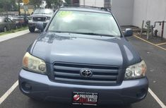 2005 Toyota Highlander Blue for sale