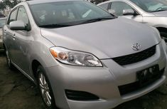 Clean Toyota Matrix 2012 Silver for sale