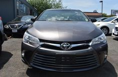 Clean Toyota Camry 2017 Grey for sale
