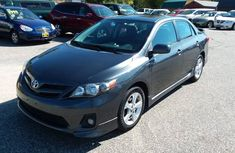 Clean Toyota Corolla 2012 Black for sale