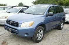 2008 TOYOTA RAV4 BLUE FOR SALE