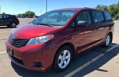 2012 TOYOTA SIENNA BASE RED FOR SALE
