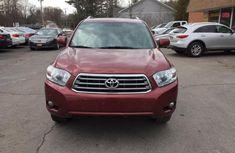 Tokunbo 2010 Toyota Highlander Red-wine for sale