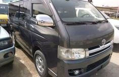 Toyota HiAce Bus 2015 Black for sale