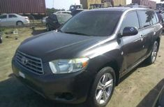 Toyota Highlander 2010 Black for sale