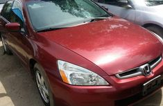 2003 Tokunbo Honda Accord Red for sale