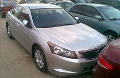 2010 Clean Tokunbo Honda Accord (evil Spirit) Silver for sale