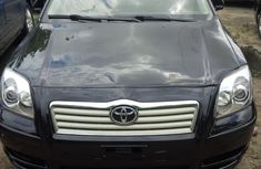 2003 Toyota Avensis Black for sale