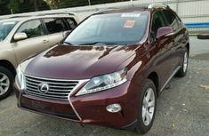 Lexus RX350 2011 Red-wine Color for sale