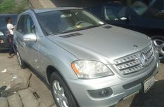 Mercedes Benz ML 350 2008 Silver for sale