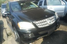 Mercedes Benz ML 350 2008 Black for sale