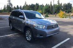 2012 Toyota Highlander Silver for sale