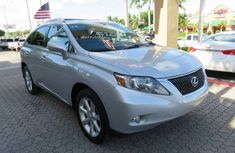 Lexus RX350 2012 Silver for sale