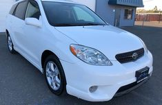 2018 Toyota Matrix White for sale