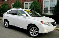 Lexus RX 350 2010 White for sale