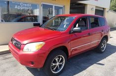Toyota RAV4 2009 Red for sale