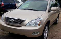 2007 Tokunbo Lexus RX350 Gold for sale