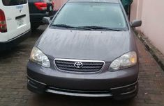 2007 Tokunbo Toyota Corolla Grey for sale
