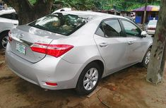 Clean tokumbo Toyota Corolla 2014 Silver for sale