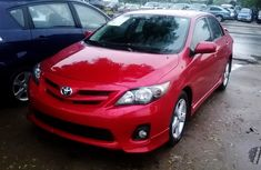 2011 Toyota Corolla Sports Red for sale