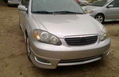 2007 Toyota Corolla Sports Silver for sale