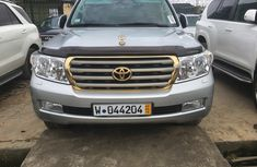 2012 Model Toyota Landcruiser V8 Silver for sale