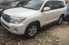 2015 Toyota Land Cruiser V8 White for sale