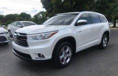 2014 Toyota Highlander White for sale