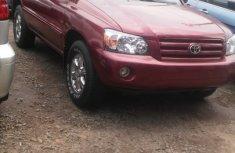 2006 Toyota Highlander Red for sale