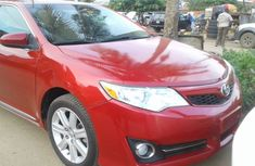 2012 Toyota Camry Red for sale
