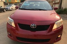 Toyota Corolla 2009 model Red for sale