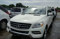 2012 MERCEDES-BENZ ML 350 4MATIC for sale