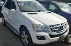 2011 MERCEDES-BENZ ML 350 4MATIC White for sale