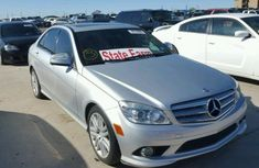 Mercedes Benz C300 2009 Silver for sale