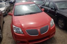 2005 Pontiac Vibe Red for sale