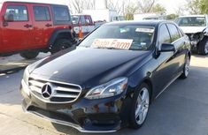 2014 MERCEDES-BENZ E 350 Black for sale